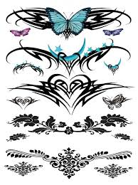 collection of 25 tribal designs for lower back