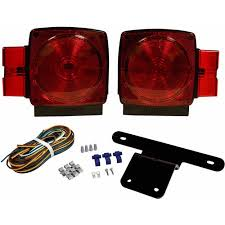 blazer c6424 submersible trailer light kit for trailers and