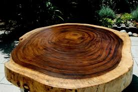 live edge round table custom made tropical live edge round coffee table exotic wood
