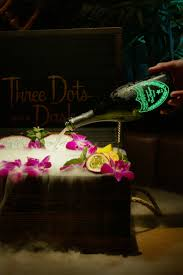 three dots and a dash u0027s treasure chest is the ultimate tiki drink