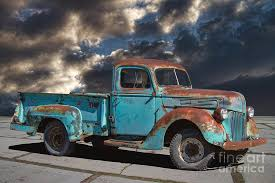 rusty pickup truck 1941 rusty ford pickup truck photograph by nick gray