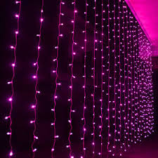 china led curtain lights christmas outdoor lights for holiday home