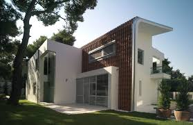 modern house building house in ekali modern house with great views home building