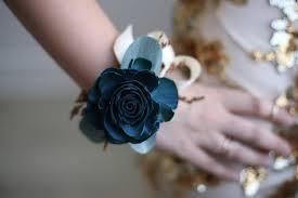 teal corsage desert corsage eco flower