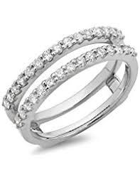 Wedding Ring Enhancers by Womens Ring Enhancers Amazon Com