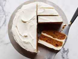 pumpkin layer cake with mascarpone frosting recipe justin