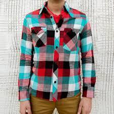 plaid flannel work shirt made in usa topo designs work shirt