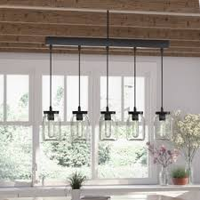 pendant lights for kitchen island farmhouse kitchen lighting wayfair