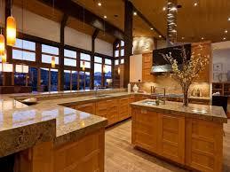 kitchen rustic kitchen brown ceiling fan u shaped kitchen island