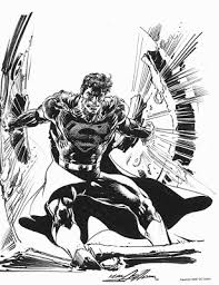 awesome comic sketches and illustrations neal adams wordless