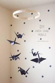 how to make a baby mobile u2013 cute and colorful ideas paper crane