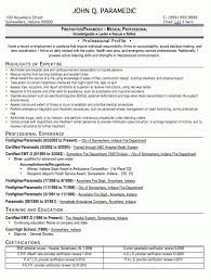 Firefighter Resume Template Download Emt Resume Examples Haadyaooverbayresort Com