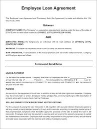 sample personal loan agreement template creative resumes