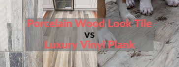 what color of vinyl plank flooring goes with honey oak cabinets porcelain wood look tile vs luxury vinyl plank an honest