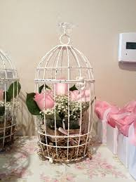 Shabby Chic Bird Cages by 26 Best Bird Cages Images On Pinterest Marriage Birdcage Decor