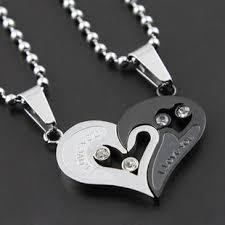 couple necklace chains images 54 best couple necklaces images couple necklaces jpg