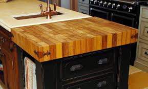 kitchen island butcher block tops custom cut butcher block countertop island top regarding table