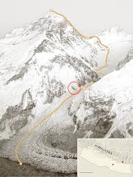 Map Of Everest Sherpas Move To Shut Everest In Labor Fight The New York Times