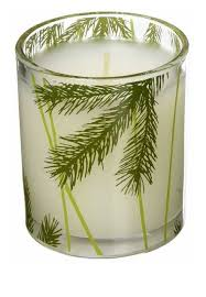 thymes candles thymes frasier fir poured candle decorative glass jar