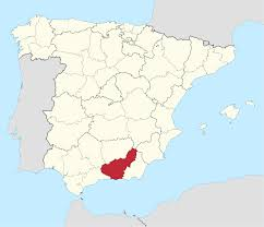 grenada location on world map province of granada