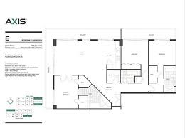 axis brickell floor plans axis brickell north tower