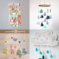 Handmade Nursery Decor Ideas Handmade Baby Mobiles Nursery Decor Baby Pinterest Handmade