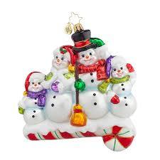 christopher radko ornaments 2016 radko snow one like family
