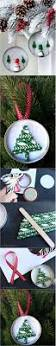 mason jar lid ornament straw christmas tree diy crafts club
