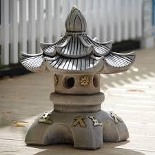 top japanese pagoda lantern garden ornament s s