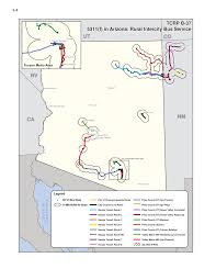 Lake Havasu Map Appendix C Gis Maps Of Rural Intercity Bus Routes Toolkit For