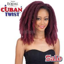 cuban twist hair equal synthetic braidable weaving cuban twist 8 12