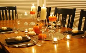 simple and easy thanksgiving decor on a budget