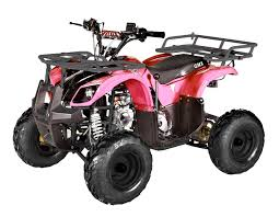 gmx mudder junior teen farm atv 125cc pink