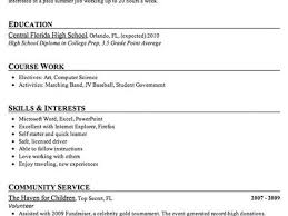 23 sample resume high students combination resume example