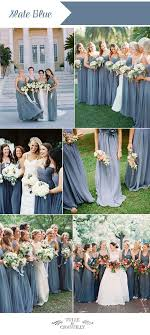 slate blue bridesmaid dresses top ten wedding colors for summer bridesmaid dresses 2016 ootd