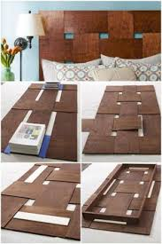 how to make a reclaimed wood headboard with new wood for less than
