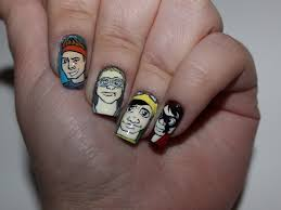 easy 5sos nails google search fashion pinterest 5sos nails