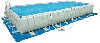 Intex Pools 18x52 Amazon Com Intex 32 Foot By 16 Foot By 52 Inch Rectangular Ultra