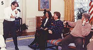 a brief history of presidential suit jackets in the oval office