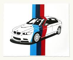 logo bmw m3 e30 m3 handmade prints for sale