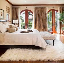 Mediterranean Bedroom Design by Flokati Rug Ikea With Mediterranean Bedroom And White Shaggy Rug
