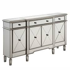 joss and main buffet ls this finely handcrafted 3 drawer 4 door mirrored cabinet from the