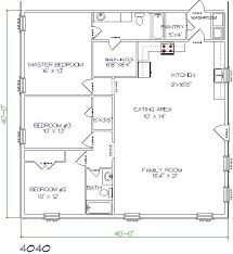 Garage Floor Plans With Living Quarters 8 54 X Steel Building With Living Quarters Metal 40x60 Garage