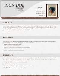 Resume For A First Job by Cv Template Free First Job