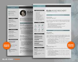 Resume Templates For Mac Pages Resume Template Cv Template For Professional 4 Pages Modern
