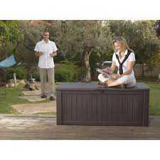 Patio Storage Chest by Furniture White Deck Boxes Sheds Garages U0026 Outdoor Storage
