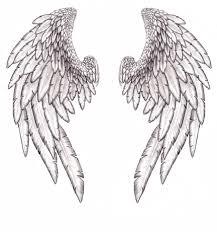 wing designs for back big wings design on back