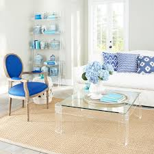 coffee tables beautiful acrylic coffee tables ideas round acrylic
