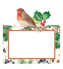 christmas placecards table decor