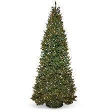 time 9ft prelit pole fir tree walmart